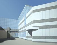 «Экспоцентр» ремонт фасадов