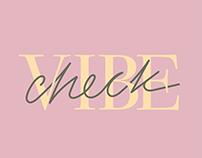Vibe Check - Logo & Identity Design