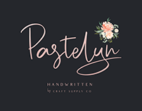 Pastelyn - Handwritten Font (Free Download)