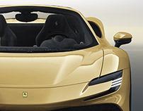 2020 Ferrari SF90 Stradale Spider Oro