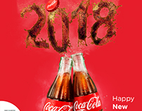 cocacola happy new year