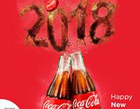 cocacola happy new year