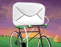 Illustrations for Postal services