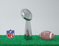 Pack NFL - 3D Model