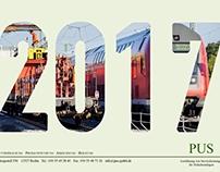 Kalender 2017 für die PUS GmbH