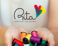 Branding Rita, artesanía con corazón