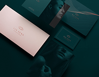 Luxury beauty oil identity and product design