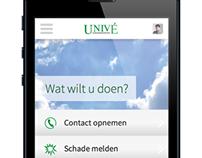 Univé app concept