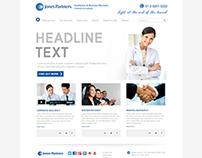 Web Solution - Jones Partners