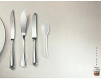 Haagen Dazs - Table Etiquette (Print)