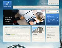 Finanzplatz Hamburg: Society Website for economy