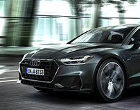 AUDI A7 Sportback 2018 - Personal CGI Project