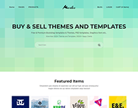 Markee – Digital Marketplace Bootstrap 4 Template