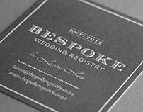 BESPOKE WEDDING REGISTRY
