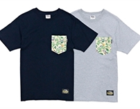 Filter017 Wildlife Fruit & Chickadees Pocket Tee