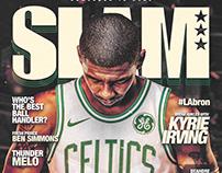 SLAM Magazine (Spoof)   Kyrie Irving