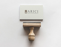 ARICI Law Office Corporate Identity Print Design.