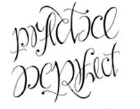 Practice/Perfect Ambigram