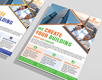 Free PSD Corporate Flyer Design 100% Editable.
