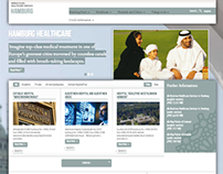 Hamburg Healthcare: CMS Website