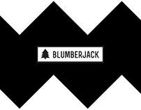 BLUMBERJACK branding