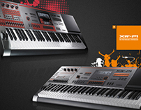 Casio: XW Synthesizer Corporate Marketing