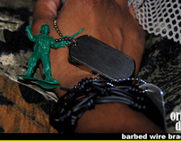 STRUGGLE STRONG Barbed Wire Bracelets