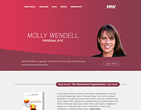 Molly Wendell web site - WP