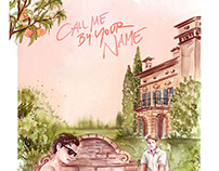 Call me by your name fan art poster