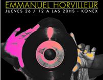 """Emma Horvilleur """"PARTY NIGHT"""" Cd Edición Deluxe"""