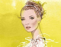 H. BAZAAR ARABIA - Kate Moss / Louis Vuitton SS12