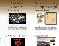 Brochure layout for Mammoth Production