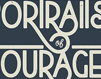 Portraits of Courage Logo