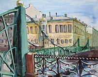 Painting / Saint-Petersburg