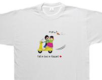 Portucalês - ilustração de t-shirts