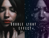 Double Light Effect | Free Photoshop Template