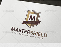 Master Shield Logo Template