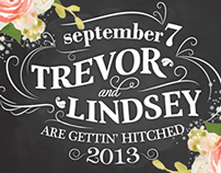 Trev & Linz are Gettin' Hitched - Invitation & Website