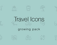 Free Travel & Tourism Icons