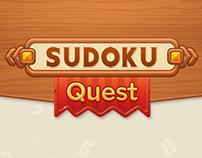 Sudoku Quest - Game UI Design