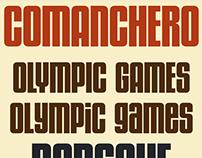 Comanchero typeface (font)