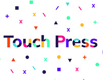 Touch Press — Brand Identity