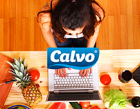 Piezas realizadas para las redes sociales de Calvo