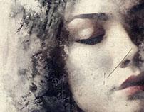 Acrylic Paint Portrait Art Design