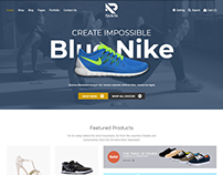 Raavin - Shoes eCommerce Bootstrap 4 Template