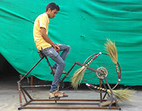 Broom Making Machine : SRISHTI SIS '15-UNICEF