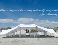 Tentickle Wedding Quotagraphics & Tentickle Tents South Africa on Behance