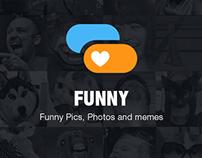 UI design - Funny app