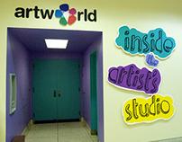 Cincinnati Art Museum's Artworld Installation