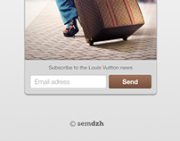 LV concept subscribe form